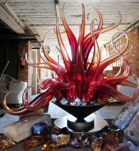 Foghetto mi son glass sculpture by Denise Gemin