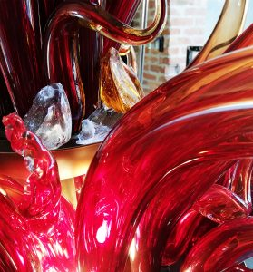 Foghetto mi son glass sculpture