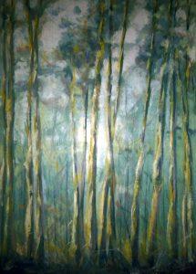 Alberi-2003_olio-su-tela-50x70-Denise-Gemin