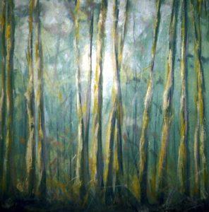 Alberi-2003_olio-su-tela-50x70-Denise-Gemin-detail