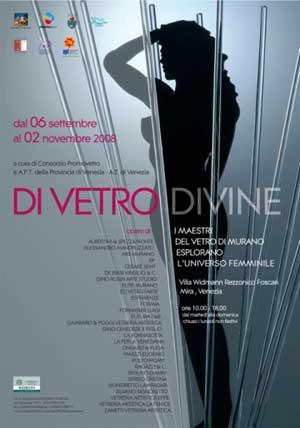 Locandina evento Di Vetro Divine 2008