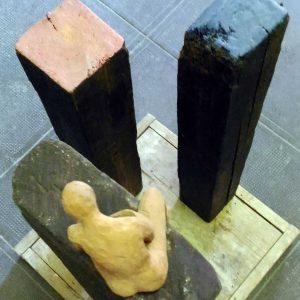 Thinker-sculpture-2018 Denise-Gemin