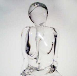 Ninfetta Murano glass sculpture 2008