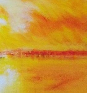 sunset-50x70-oil-painting-detail01 Denise Gemin