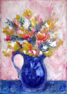 vaso-blu-con-fiori-2003-olio.su.tela-50x70-Denise-Gemin